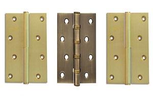 Петли дверные универсальные, 4 подшипника - нержавеющая сталь