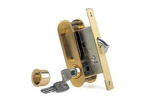 Ручки для раздвижных дверей с замочным механизмом