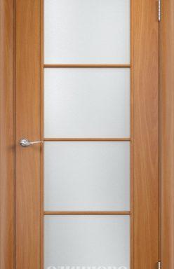 Дверное полотно остекленное С-8 (о) Миланский орех 2000×700 мм
