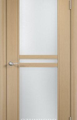 Дверное полотно С-23 (о) Беленый дуб 700х2000