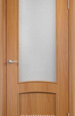 Дверное полотно остекленное С-5 (о) Миланский орех 2000х700 (стекло «Бали»)